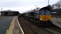 66425 & 66432 On The Cumbrian Stone Train.