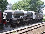 Class 6P # 46115 Scots Guardsman @ Hellifield 20/06/2008.