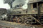 Chinese 2-6-2 YJ 290 at Anshan steelworks.